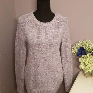 GAP lavender Knit Sweater Size XS